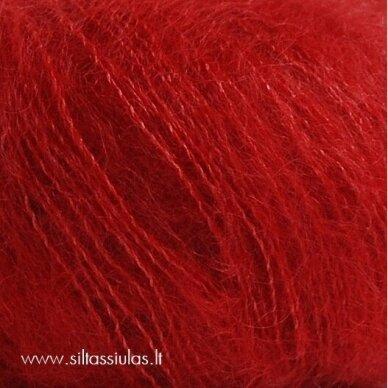 Silk Kid Mohair 1045 sodri raudona