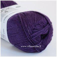Sock 4 tamsiai violetinė 5775
