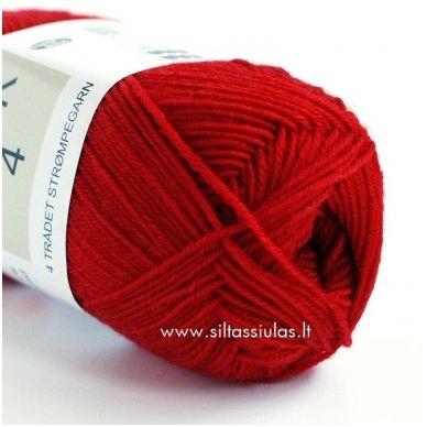 Sock 4 raudona 4500