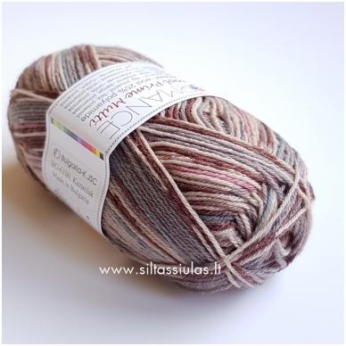 Sockwool Prime Multi 12 pilka - ruda - rausva - melsva 2