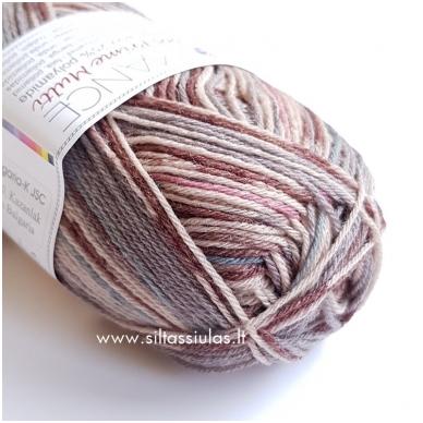 Sockwool Prime Multi 12 pilka - ruda - rausva - melsva