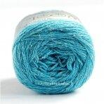Hjertegarn Wool Silk 3010 vandens žydra