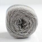 Hjertegarn Wool Silk 3013 sidabro pilka