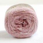 Hjertegarn Wool Silk 3015 švelni rausva
