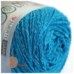 Wool Silk 3021 lagūnos mėlyna