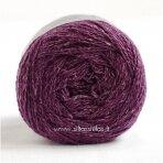 Hjertegarn Wool Silk 3028 baklažano violetinė