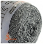 Wool Silk 3032 grafito pilka