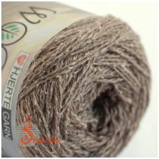 Wool Silk 3009 medžio ruda