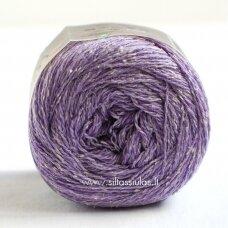 Hjertegarn Wool Silk 3029 alyvų violetinė