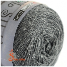 Wool Silk 3032 grafito pilka