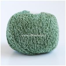 Wooly Cotton 163 tamsiai žalia
