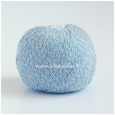 Wooly Cotton 85 šviesiai mėlyna