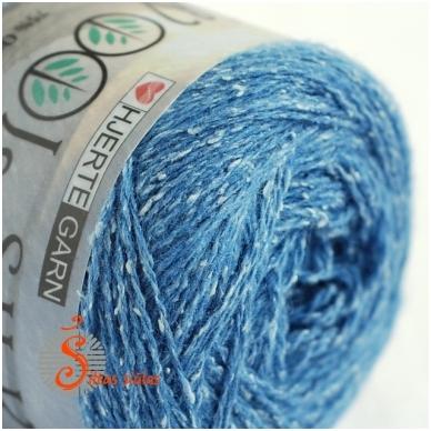 Wool Silk 3004 vandenyno mėlyna 2