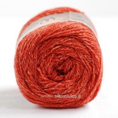 Hjertegarn Wool Silk 3017 rudens oranžinė