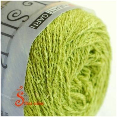 Hjertegarn Wool Silk 3020 pavasario žalia 2