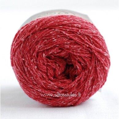 Hjertegarn Wool Silk 3030 aviečių raudona