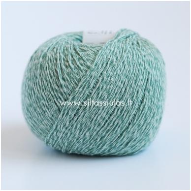 Wooly Cotton 135 šalavijų žalia